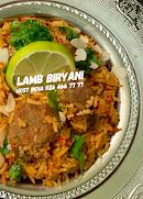 Hyderabad Lamb Biryani