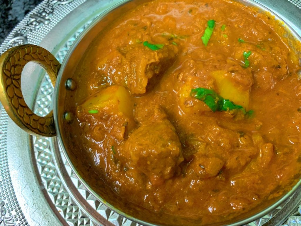 Bombay Lamb Vindaloo (Spicy)