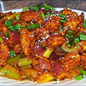 Chilli chicken (Spicy)