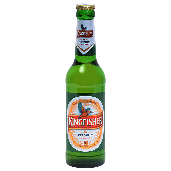 King Fisher 033.l  CHF 6.00   Bière indienne
