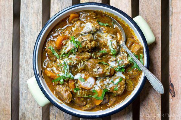 Lamb coco - Agneau dans une sauce curry a la noix de coco