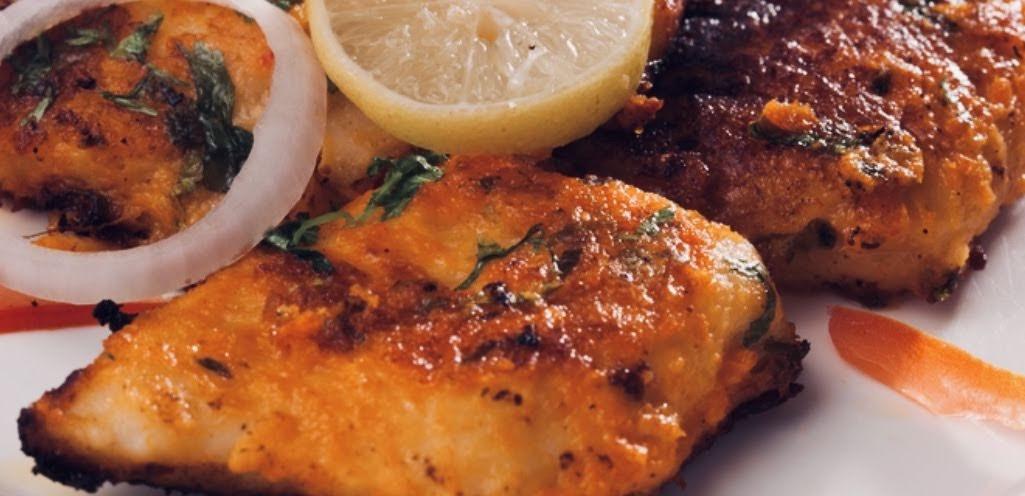 5 Fish - Poisen (servi avac du riz)
